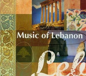 CD The Music of Lebanon